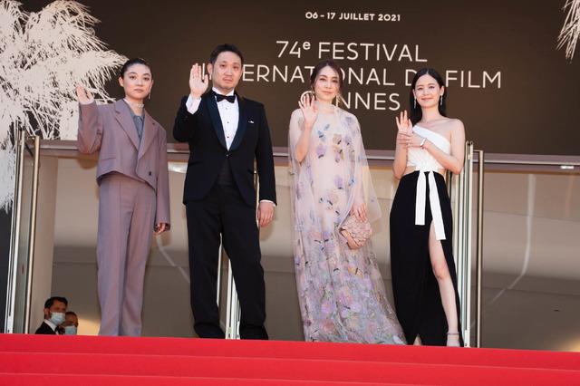 『ドライブ・マイ・カー』第74回カンヌ国際映画祭レッドカーペット(C) Kazuko WAKAYAMA