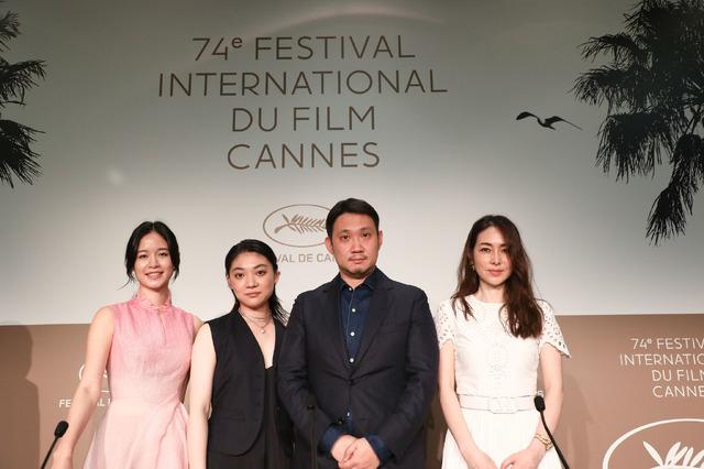 『ドライブ・マイ・カー』第74回カンヌ国際映画祭 記者会見(C) Kazuko WAKAYAMA