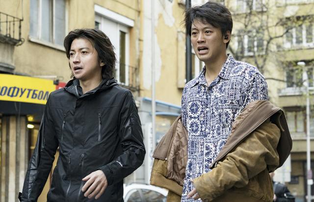 『太陽は動かない』 (C)吉田修一/幻冬舎 (C)2020 「太陽は動かない」製作委員会