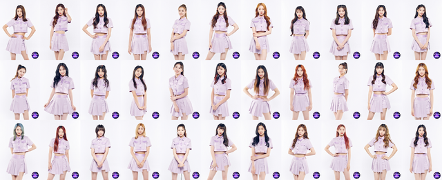 「GIRLS PLANET 999:少女祭典」Cグループ (C)CJ ENM Co., Ltd, All Rights Reserved