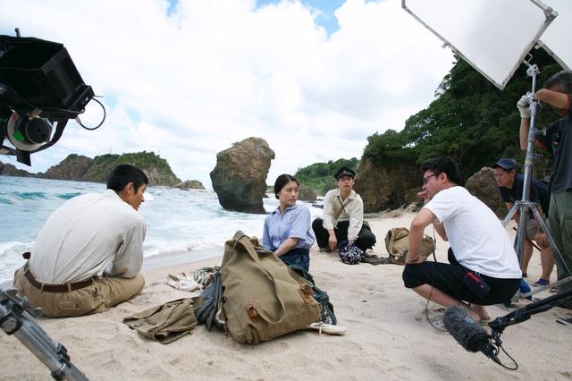 『映画 太陽の子』メイキング  (C) 2021 ELEVEN ARTS STUDIOS / 「太陽の子」フィルムパートナーズ