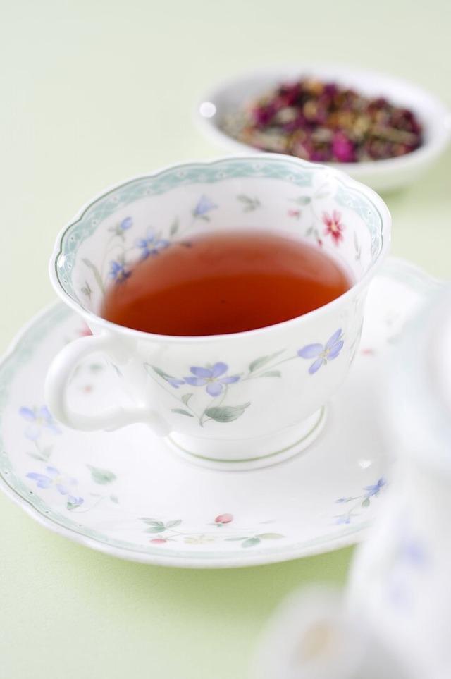 紅茶とともに