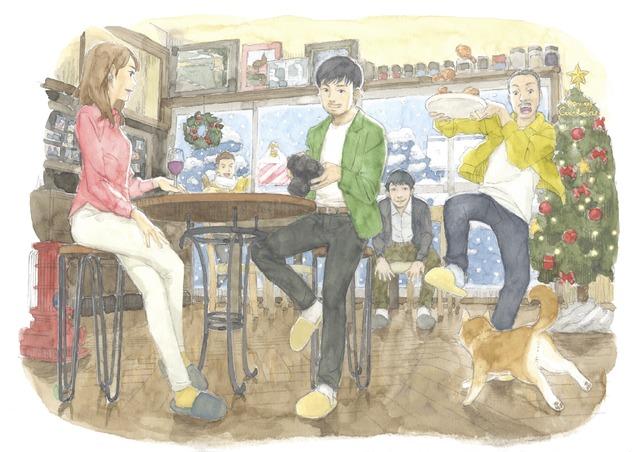 『今はちょっと、ついてないだけ』イメージボード (C)2022 映画『今はちょっと、ついてないだけ』製作委員会/画・柴山智隆