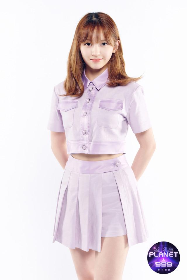 坂本舞白「GIRLS PLANET 999:少女祭典」(C)CJ ENM Co., Ltd, All Rights Reserved