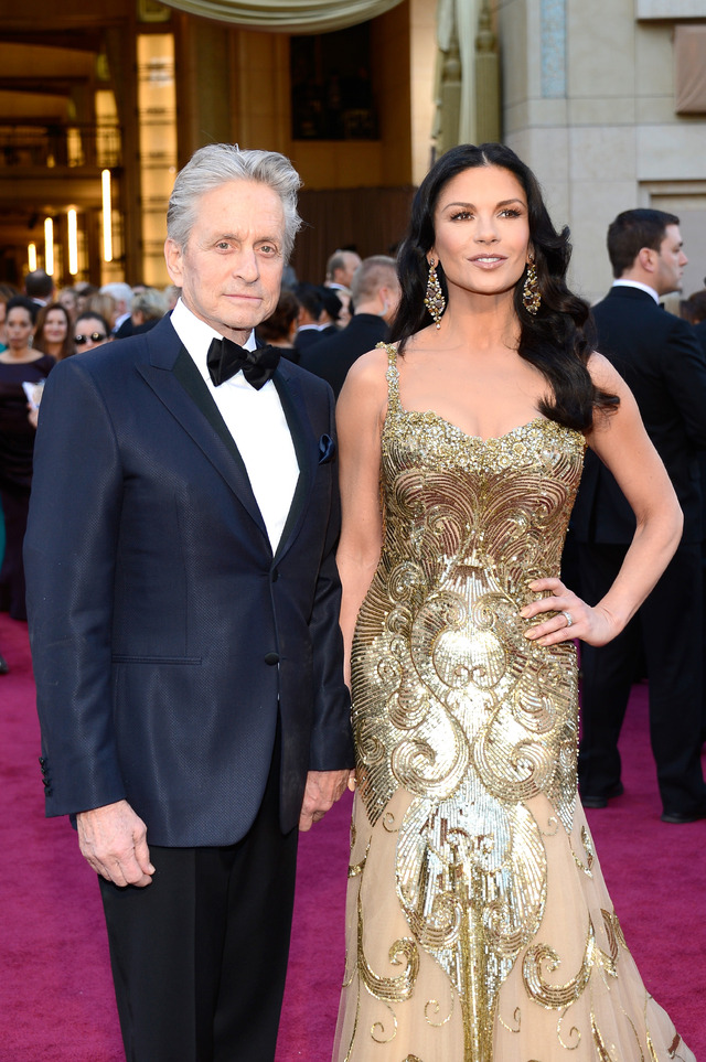 別居中マイケル・ダグラス&キャサリン・ゼタ・ジョーンズ夫妻、新年を一緒に迎えていた 2枚目の写真・画像